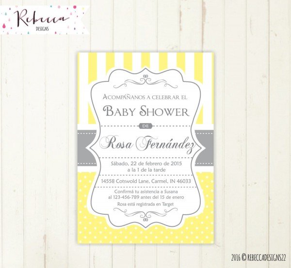 Fancy Baby Shower Invitations In Spanish 53 In Invitations