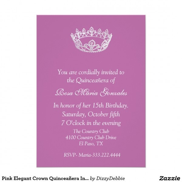 Fancy Quinceanera Invitation Poems 57 About Invitation Design With