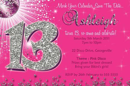 Fdfcacddea Popular 13th Birthday Party Invitations
