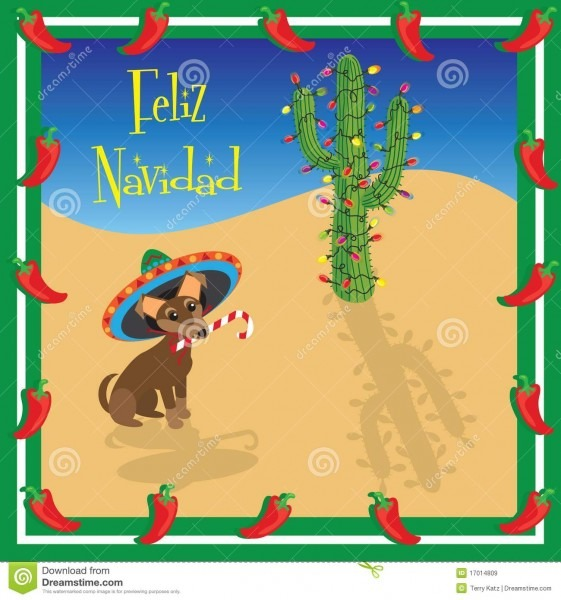 Feliz Navidad Chihuahua Stock Vector  Illustration Of Merry