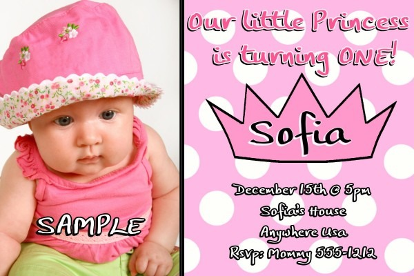 First Birthday Invitation Cards Sample Good With First Birthday