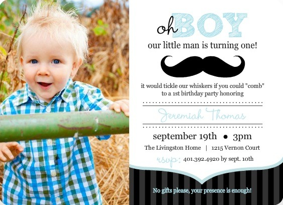 First Birthday Invitations Boy Best With First Birthday