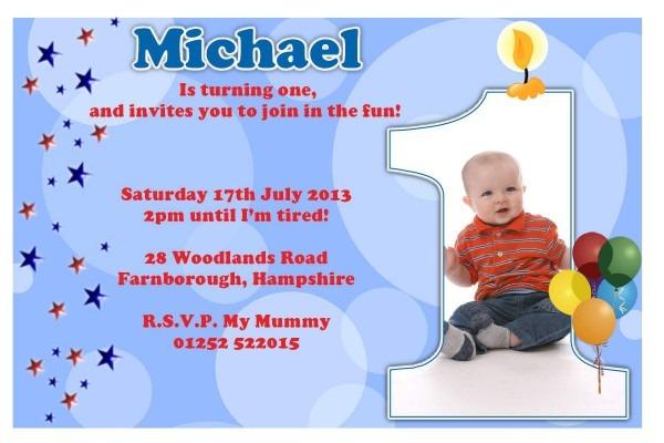Imágenes De Create 1st Birthday Invitation Card Free Download