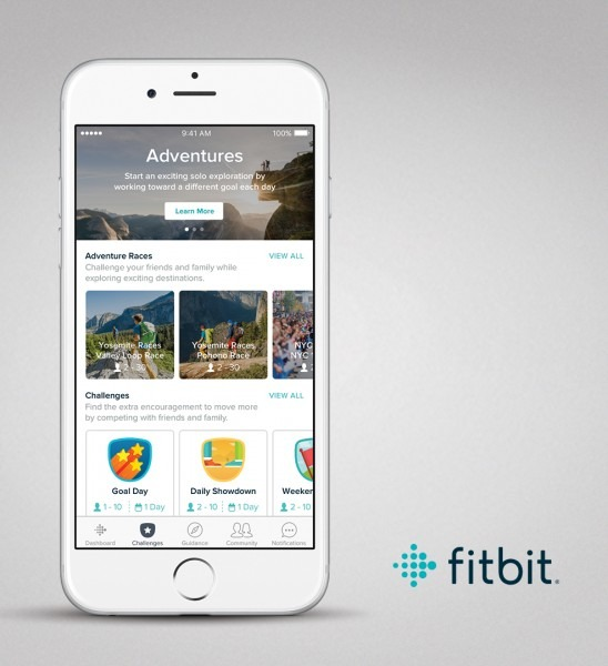 Join Fitbit (and Your Friends!) On An Adventure!
