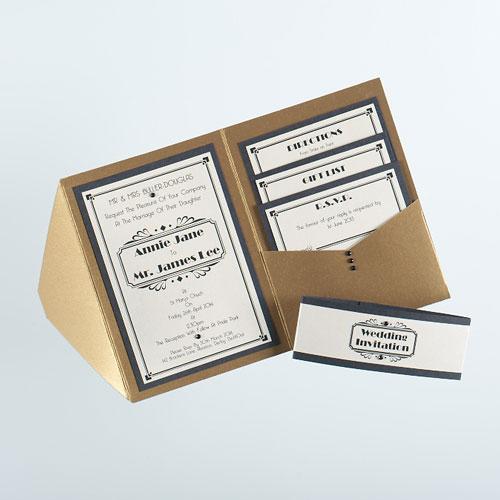 Wallet Style Wedding Invitations