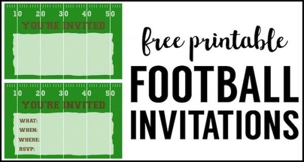 Efbebfb Fresh Football Party Invitations Templates Free
