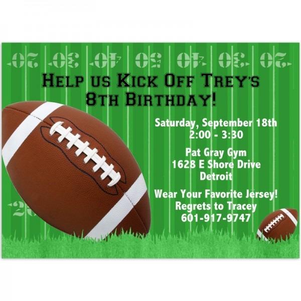 Free Football Invitations