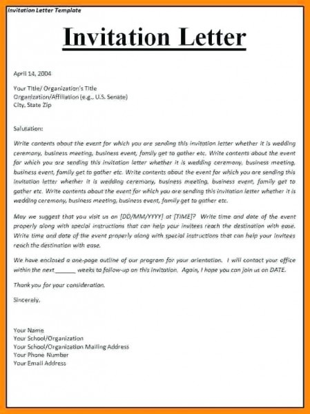 Event Invitation Email Template With Corporate Event Invitation
