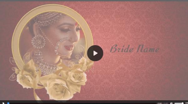 Free Wedding Invitation Video Maker & Online Invitations