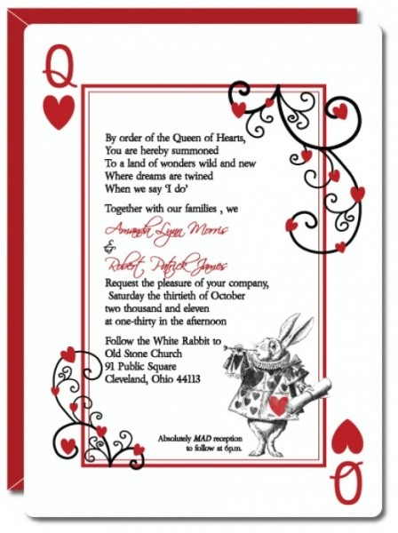 Free Alice In Wonderland Invitation Template Alice In Wonderland