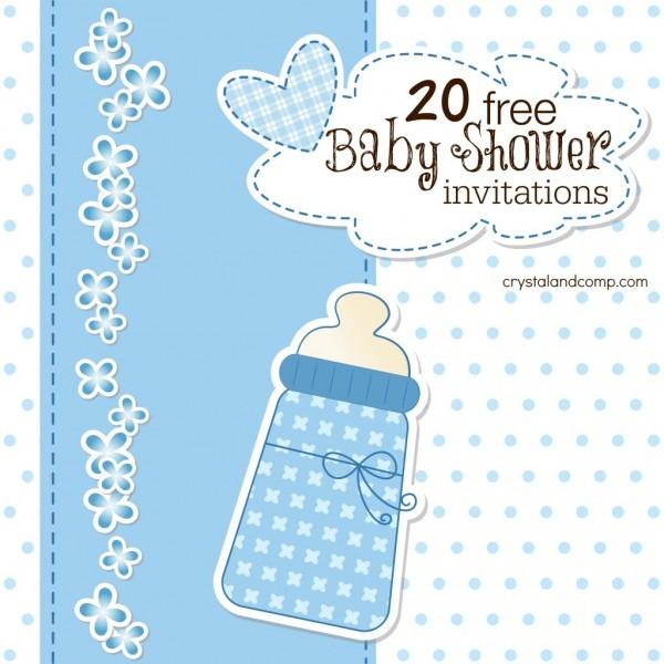 Printable Baby Shower Invitations