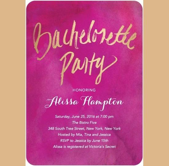 Free Bachelorette Party Invitations Free Bachelorette Party