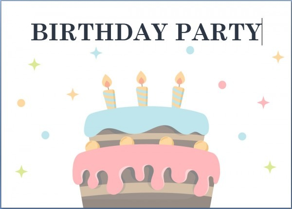 Free Printable Birthday Invitation Template  3606
