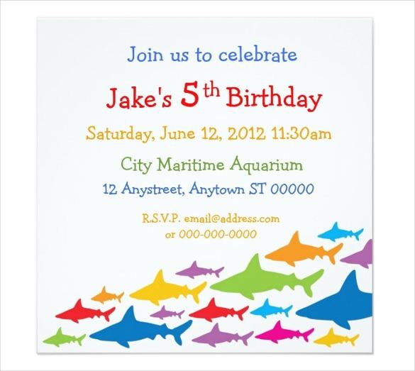 Free E In New Birthday E Invitations