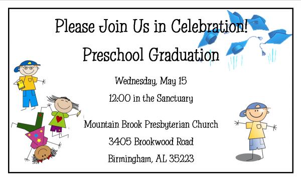 Free Kindergarten Graduation Invitations