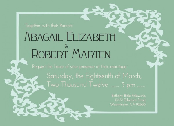 Funeral Reception Invitation Templates Free Archives