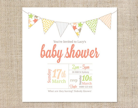 Free Printable Baby Shower Invitation Templates Cute With Free