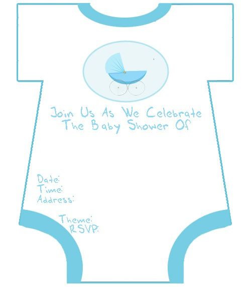 Free Printable Baby Shower Invitations Templates For Boys Luxury
