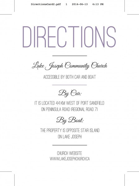 Free Printable Driving Directions For Invitations  385363