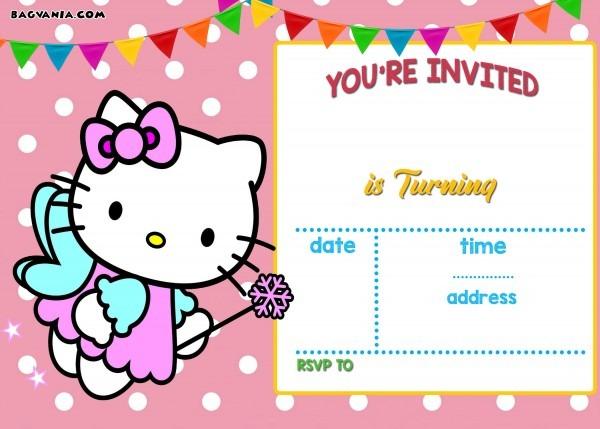Invitation Ideas  Hello Kitty Birthday Invitations