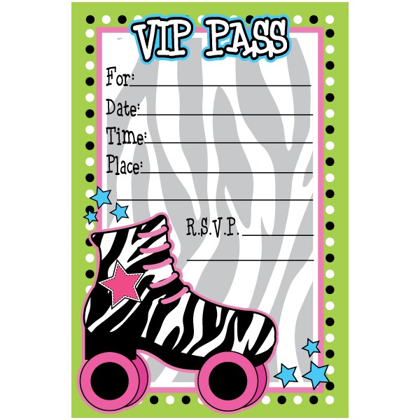 Free Printable Roller Skating Party Invitat Awesome Roller Skating
