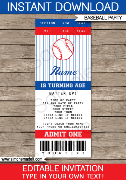 Free Printable Ticket Invitation Templates Best With Free