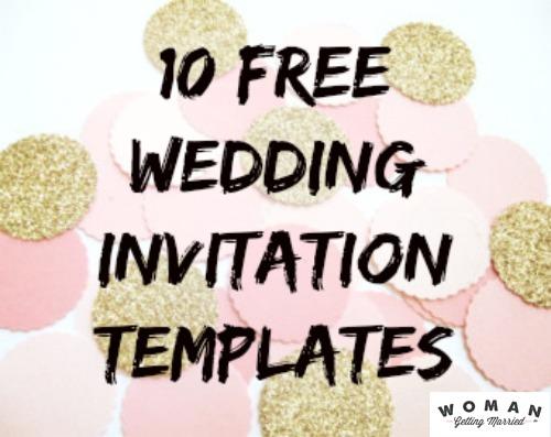 Free Wedding Invitation Diy Trend Do It Yourself Wedding