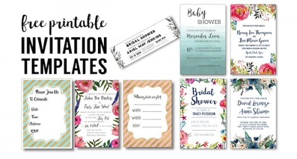 Free Wedding Invitation Printable Templates Inspirational With