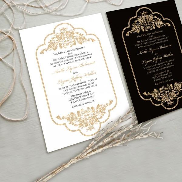 Fresh Fancy Wedding Invitations 13 About Remodel Invitations