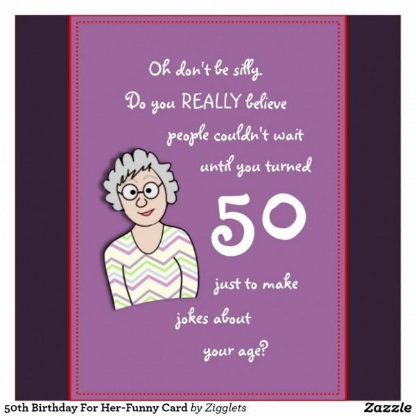 Funny Fresh Funny 50th Birthday Invitations
