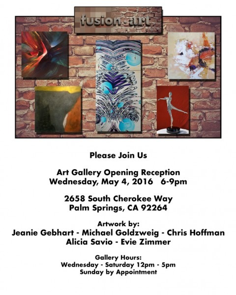 Fusion Art Gallery Opens In Palm Springs, Ca