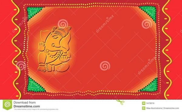 Ganesh On Invitation