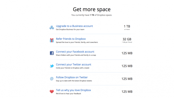 How To Get More Dropbox Space For Free (32gb The Easy Way