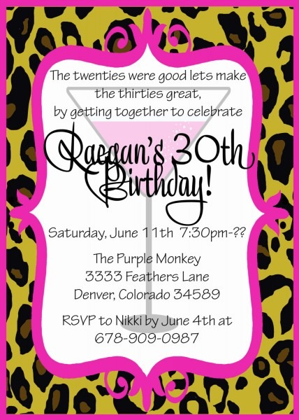 Get Together Party Invitation Message Th Birthday Invitation