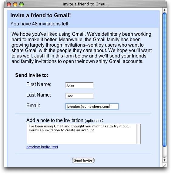 Invite To Gmail