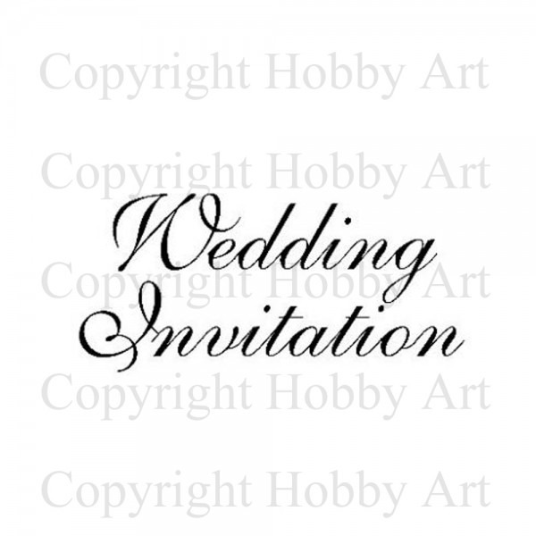 Wedding Invitation    Weddings    Rubber Stamps    Products