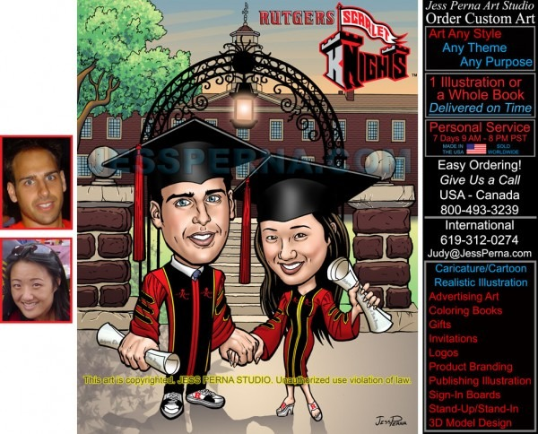 Order Children And Teen Caricatures Cartoons Gifts