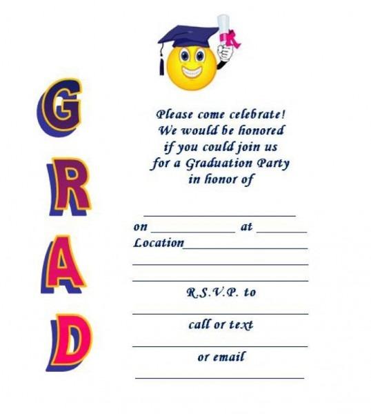 40+ Free Graduation Invitation Templates