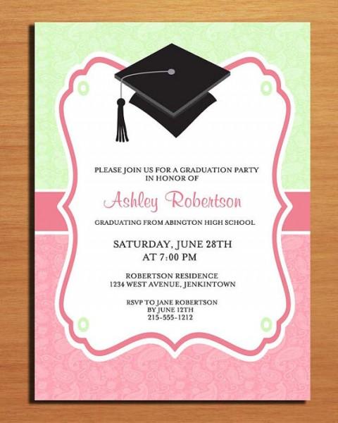 Imágenes De Graduation Party Invitation Cards Free