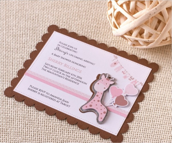 Great 3d Baby Shower Invitations 80 For Your Invitation Design