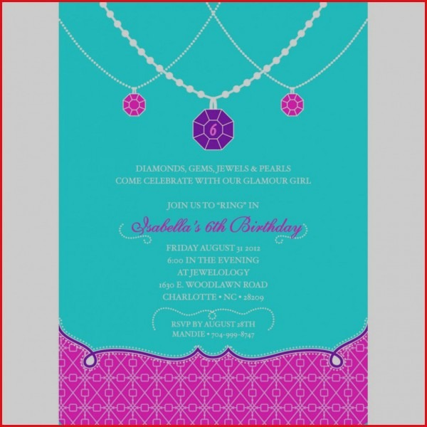 Great Jewelry Party Invitation 42 For Your Invitation Design