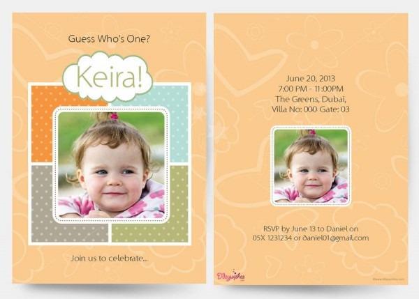 Invitation Template  Personalized Invitation Card For Birthday