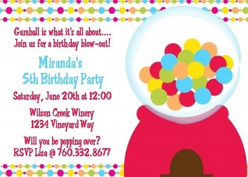 Party Invitation Example