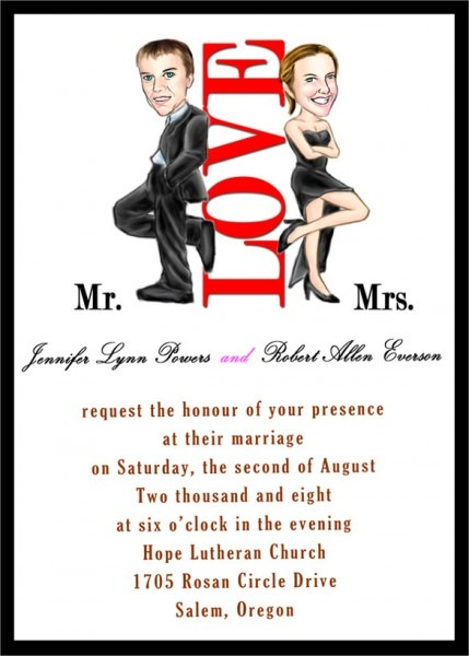 Funny Wedding Invitations Sample Letter Of Funny Wedding