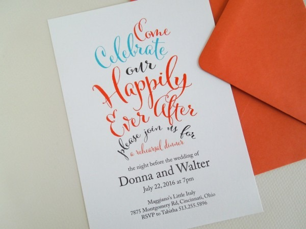 Invited Too  Happily Ever After Invitations