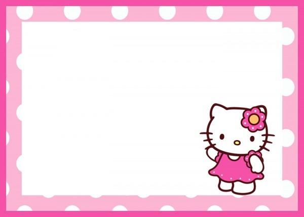 Hello Kitty Birthday Invitations Hello Kitty Birthday Invitations