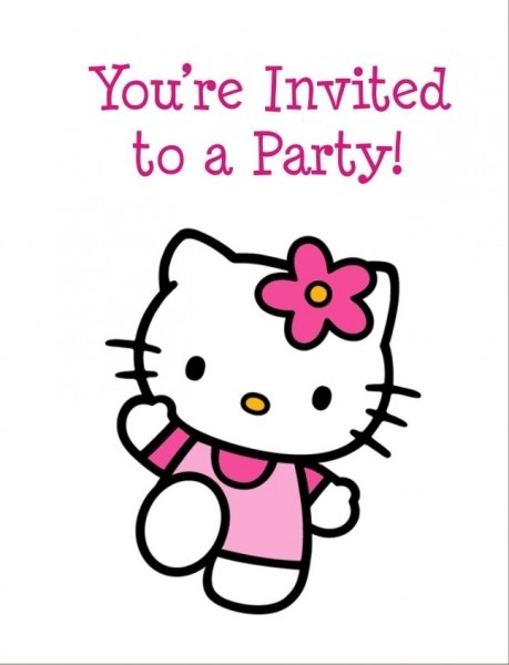 Hello Kitty Invitation Templates Free Download Spectacular With
