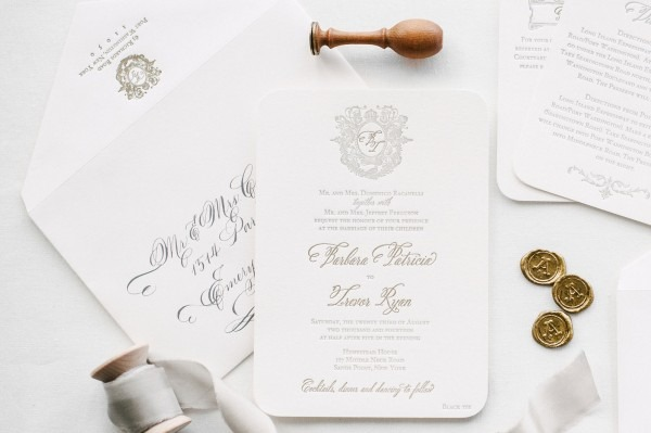 How To Order Custom Letterpress Wedding Invitations