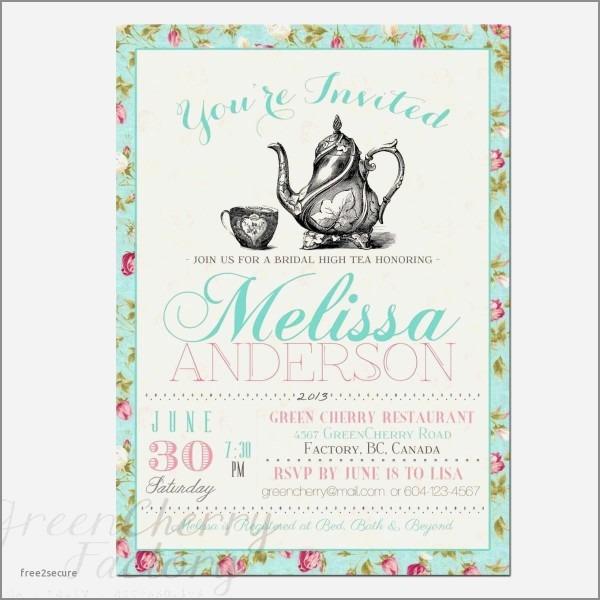 High Tea Wedding Shower Invitation Wording Lovely Baby Sprinkle