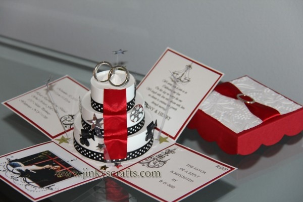 Jinky's Crafts & Designs  Hollywood Themed Wedding Invitations